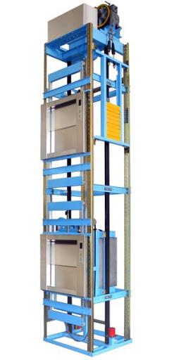 thang máy tải thực phẩm hoạt động như thế nào